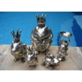 SILVER PLATED / BRONZE FIGURINES