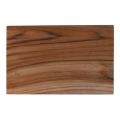 Rectangular sushi tray teak root