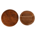 Cover plates teak root