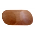 Double oval sauce bowl suar
