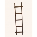 Decoration ladder old recycled teak wood